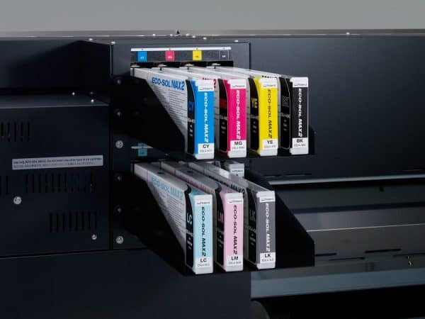 Configurazione inchiostri Xr-640 Roland