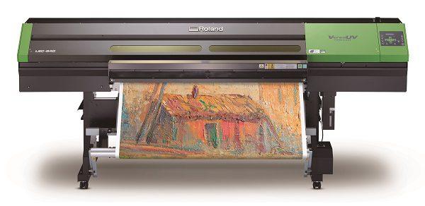 Plotter stampa e taglio rolanda VersaUV Lec-540