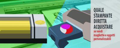 Quale stampante diretta acquistare se vendi magliette e oggetti personalizzabili
