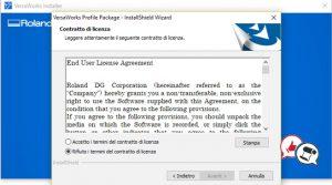 Roland VersaWorks 6 installazione parte 11