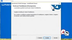 Roland VersaWorks 6 installazione parte 12