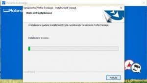 Roland VersaWorks 6 installazione parte 13