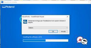 Roland VersaWorks 6 installazione parte 14