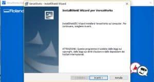 Roland VersaWorks 6 installazione parte 15