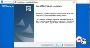 Roland VersaWorks 6 installazione parte 5