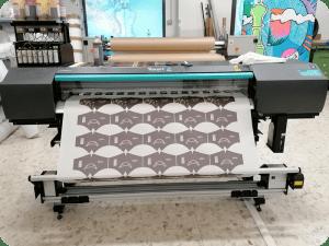 stampa transfer sublimatico con Roland Xt-640