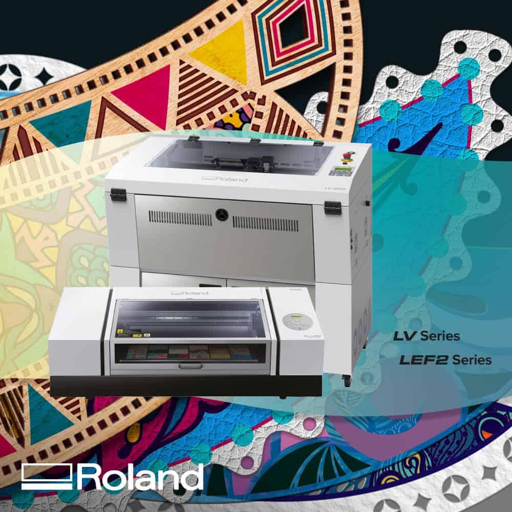 Laser Roland Lv-290 + Roland lef2-300