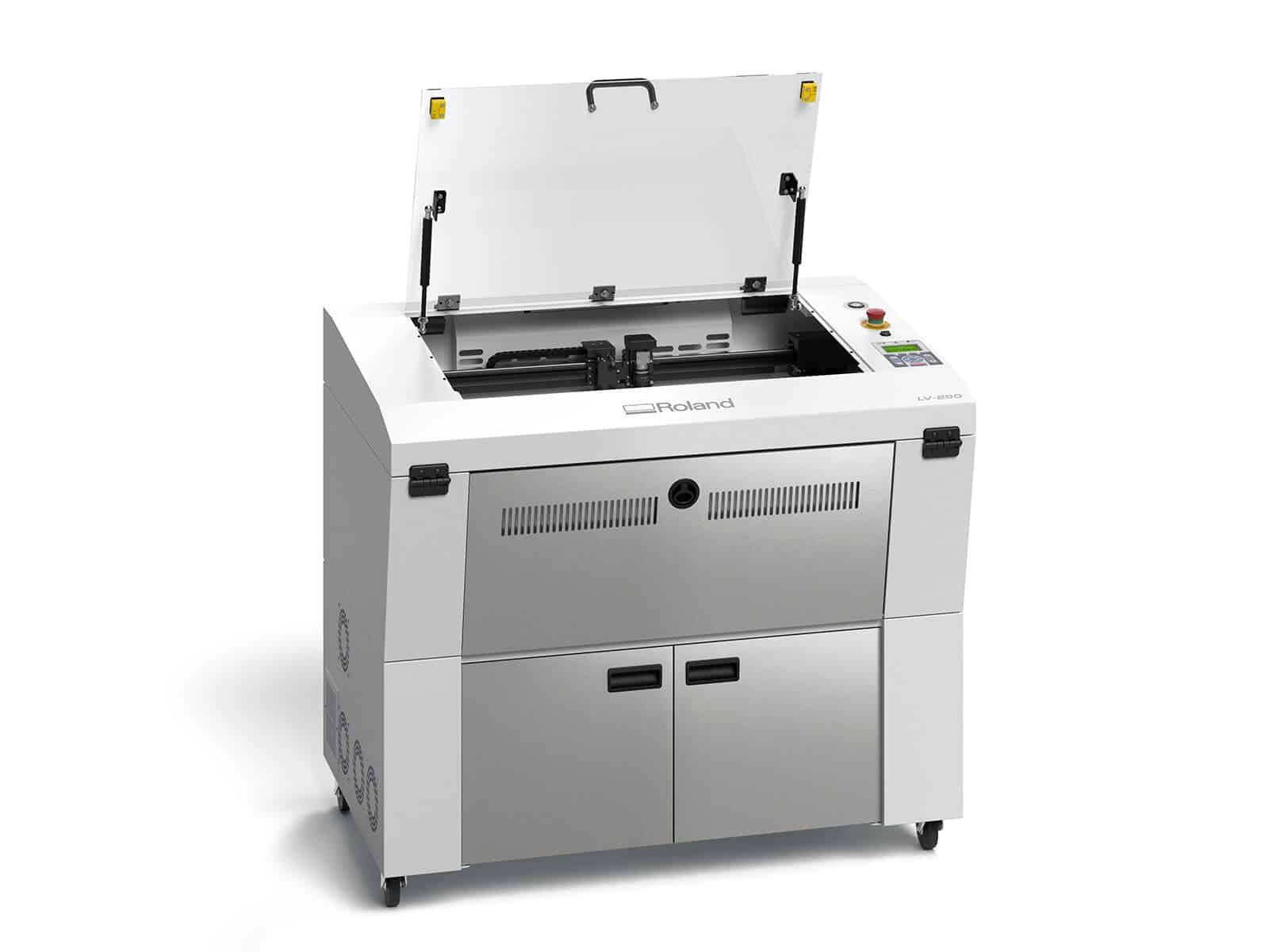 Roland incisore laser lv-290 Co2 frontale aperto