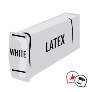 inchiostro bianco Latex