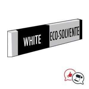 inchiostro bianco Eco solvente