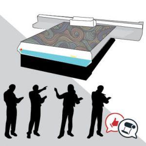 Meglio investire in una flatbed UV o assumere dipendenti